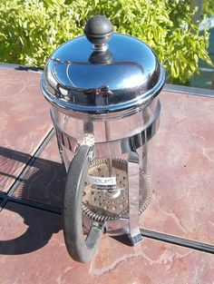 French Press Bodum 4 Cup Coffee Pot by LAKEWAYCANDLES on Etsy, $35.00