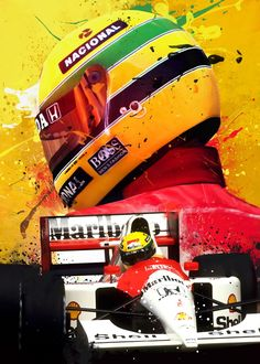 Pop Art Posters, Car Posters, Poster Prints, F1 Wallpaper Hd, Wallpapers, Witcher Wallpaper, Racing Tattoos, Car Tattoos, Aryton Senna