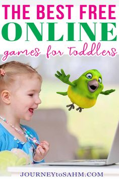 All the Best Free Online Games for Toddlers Age 3. Finding free online games for toddlers age 3 can be a challenge, especially when trying to find age-appropriate ones. Even when looking at just age 3, educational abilities range from wanting to play space bar games or press any key games to almost 4 years old and being able to move the mouse around easily. | @journeytoSAHM #onlinegamesfortoddlers #freegamesfortoddlers #funfortoddlers Free Games For Toddlers, Toddler Games Online, Educational Activities For Toddlers, Activities For 2 Year Olds, Parenting Toddlers, Online Games, Parenting Hacks, Bar Games, Toddler Age
