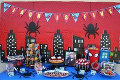 Spiderman Party Pack Spiderman Party by BradfordRoadDesigns Visit www.fireblossomcandle.com for more party ideas!