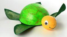 Schildkröte aus Styropor