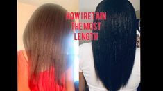 Relaxed Hair Regimen   How I Retain The Most Length, products included