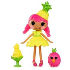 Lalaloopsy Minis Doll- Piña Tropi-Callie by Lalaloopsy Minis, Lalaloopsy Mini, Moose Toys, Funny Animal Quotes, Wedding Tattoos, Cute Toys, Candy Colors, Toys For Girls, Doll Accessories