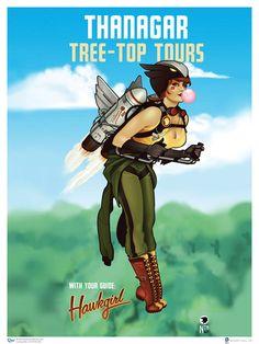 Super heroínas Pin Up's - Hawkgirl