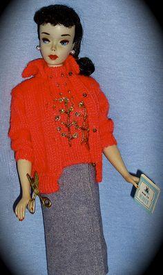#3 Barbie in Prototype Knitting Pretty