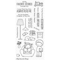 Simon Says Stamp: My Favorite Things OUR STORY Clear Stamps BB41