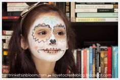 Crafty Chica Day of the Dead Makeup Photo