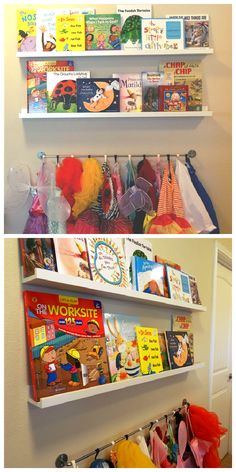 Display your colorful children's books with RIBBA picture ledges! Get more inspiration with these 7 home decor ideas from IKEA fans!