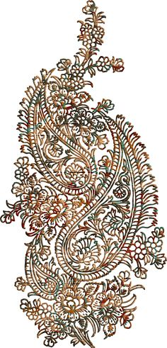 Paisley Embroidery Patterns Paisley Peacock Set For Paisley Embroidery Patterns Embroidery Designs Sketch At Paintingvalley Explore Collecti. Paisley Art, Paisley Design, Paisley Pattern, Pattern Art, Print Patterns, Pattern Design, Baroque Pattern, Paisley Embroidery, Folk Embroidery