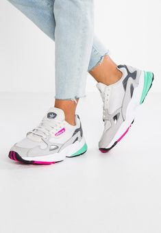 finest selection 77b59 17853 adidas Originals FALCON - Baskets basses - grey onegrey twogrey five -