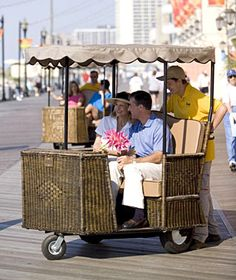 When you get tired of walking the Atlantic City boardwalk...