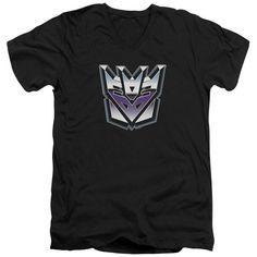 Transformers Decepticon Logo Black Shirts