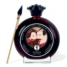 Create exotic art on your partner and savor your masterpiece. Champagne and strawberries flavor. Naughty gifts for men. Sexy gifts for him. Strawberry Wine, Strawberry Champagne, Cadeau Couple, Carnal, Charles Perrault, Exotic Art, Sexy Gifts, Massage Oil, Spice Things Up