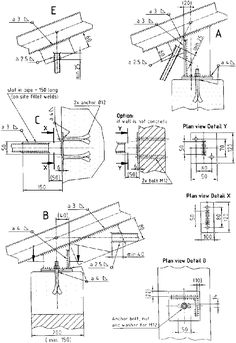 Roof Truss Guide - Design and construction of standard timber and steel trusses (BASIN - SKAT, 1999, 187 p.): 6 STEEL TRUSSES: 6.2 System Options Steel Trusses, Roof Trusses, Roof Structure, Steel Structure, Roof Truss Design, Building A Pole Barn, Thermal Expansion, Structural Analysis, Galvanized Pipe