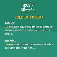 Conceitos de Ecologia. Clique na imagem para assistir à aula em vídeo sobre o assunto.