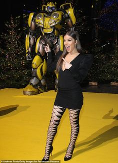 Hailee Steinfeld stuns in figure hugging minidress and daring thigh-high boots at Bumblebee photocall in Berlin Hailee Steinfeld Pitch Perfect, Girl Celebrities, Celebs, Hailey Steinfeld, Pantyhose Outfits, Berlin, Famous Girls, Girl Inspiration, Hot Brunette