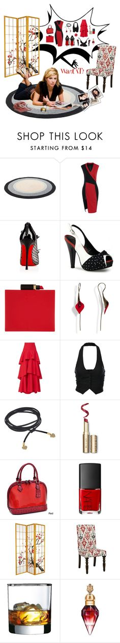 """Too many selections."" by susans-sg ❤ liked on Polyvore featuring COVERGIRL, Christian Louboutin, Pinup Couture, Lulu Guinness, MDS Stripes, J.TOMSON, Rebecca Minkoff, Dasein, Rituel de Fille and Luminarc"