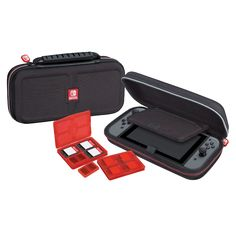 Buy Official Nintendo Switch Travel Case here at Zavvi US, the home of entertainment and the ZBOX. Nintendo 3ds, Family Games, Games For Kids, Consoles, Ps4, Xbox, Nintendo Switch Case, Gold Armor, Videogames
