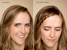 Hair and Make-up by Steph: Fifteen Ways to Pin Back your Bangs.....professional hair and makeup designer