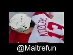 Hockey Hits - Scott Stevens slam Slava Kozlov Of Montreal, Slammed, Hockey, Fictional Characters, Fantasy Characters, Field Hockey