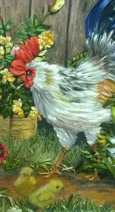 Как вышивать животных и птиц гладью – 41 фотография