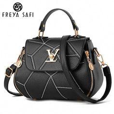 0a193a47732 FREYA SAFI Luxury Leather Shell Tote Handbags - 9 Colors   Louisvuittonhandbags Acessórios Femininos