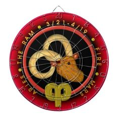 Valxart Aries zodiac Dartboards see more Aries by Valxart at http://www.zazzle.com/valxart+aries+gifts