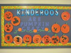 Preschool Birthday Bulletin Board Ideas | Kindergarten Pumpkin Activities | Mommys Lessons