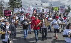 Hundreds March to Protest Police Shooting of Native Woman