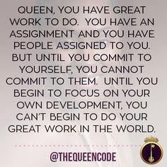 Queen, you have Grea