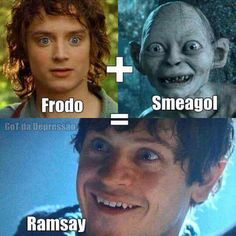 I think this proves that lord of the rings is a prequel to game of thrones.