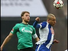 Hertha Berlin vs Schalke 04 2:2 All Goals & Highlights │ Bundesliga 2015