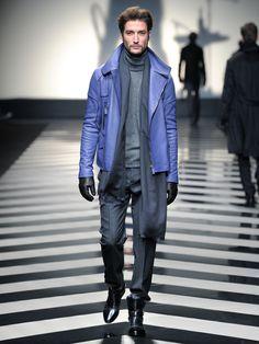 #RobertoCavalli Menswear FW 2012-13 fashion show