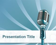 Online Radio PowerPoint Template is a free background template for broadcast or online radio presentations that you can download to make awesome news PPT templates for PowerPoint
