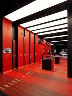 Fabio Novembre uses club colours for AC Milan headquarters interior: