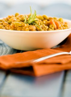 Lovely Lentils with Brown Rice  Actual recipe link is below http://www.todaysparent.com/recipe/vegetarian/lovely-lentils-with-brown-rice/