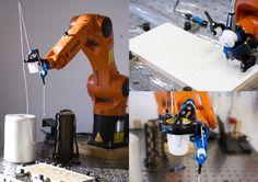 Polish student Basia Dżaman modified a robotic arm using specially designed, 3D printed tools.