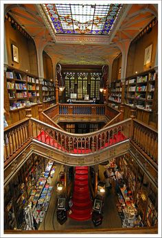 "Amazing bookshop ""Lello"" in Porto_Portugal"