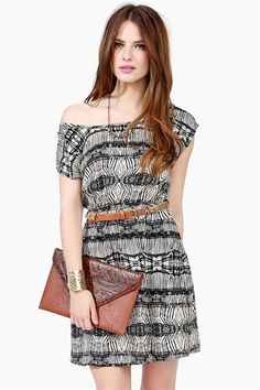 Tied Down Dress - Taupe