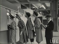 Vintage glamour checks!