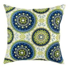 17-inch Outdoor Summer Square Accent Pillow (Set of 2) | Overstock.com Shopping - Big Discounts on Outdoor Cushions & Pillows