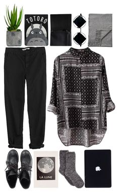"""""""black"""" by unbelievable-977 ❤ liked on Polyvore featuring Chicnova Fashion, Ash, Charter Club, Urban Outfitters, Monki, GG 750, Acne Studios, Ghibli and Laura Ashley"""