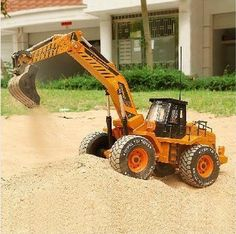 1/10 scale rc truck electric rc excavator 6WD remote control construction trucks