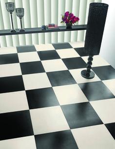 Allure lattialaatta koossa 50×50 ja 33×33 cm. Saatavana 16 eri väriä, kuvassa white ja black. Exterior, Tile Floor, Flooring, Texture, Contemporary, Rugs, Projects, Crafts, Inspiration