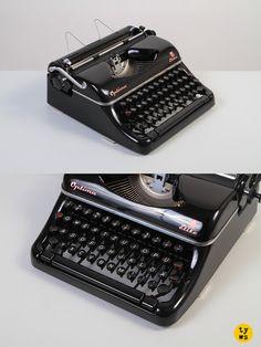 The über-elegant East German Optima Elite! #typewriter
