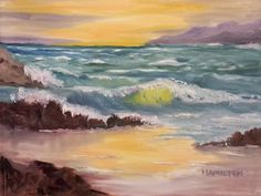 This is the painting we will paint in our January 15, 2014 Oil Painting Class. It is a created scene based on my photos of the Oregon Coast. I hope you try i...