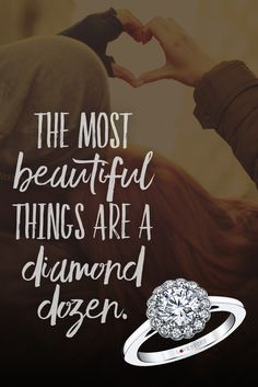What's the secret to a strong relationship? Strong jewelry game. #alwaysbrilliant #engagementring #lovestory  :Only You® Flower Frame Diamond Engagement Ring in White Gold, 5/8ctw