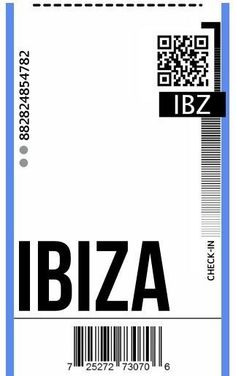 Ibiza, Ticket Design, Aesthetic Phone Case, Ticket Template, Hypebeast Wallpaper, Phone Stickers, Aesthetic Stickers, Diy Phone Case, Design Case