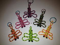 Happy Paracord Dragonfly New Colors Made to order by RepconStuff, $4.99   Fundraiser for Lone Survivor Foundation and National Breast Cancer Foundation