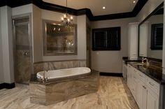 Master Bath, Custom Home built by Regency Homebuilders
